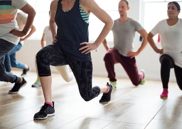 Fitness und Bewegung am Arbeitsplatz