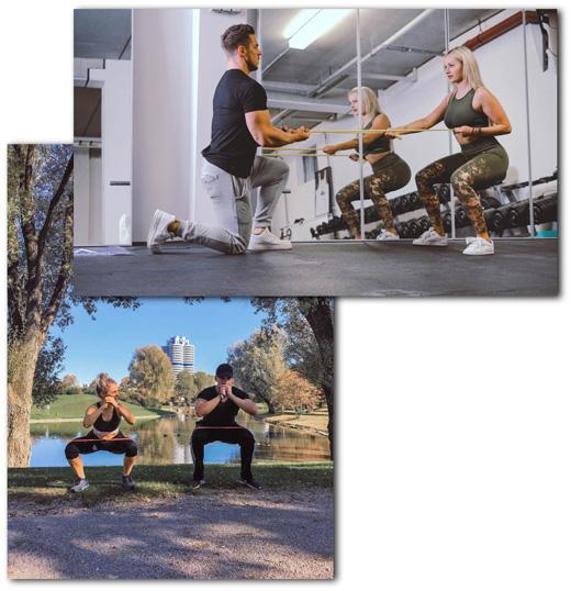 Personal Training München für Männer und Frauen