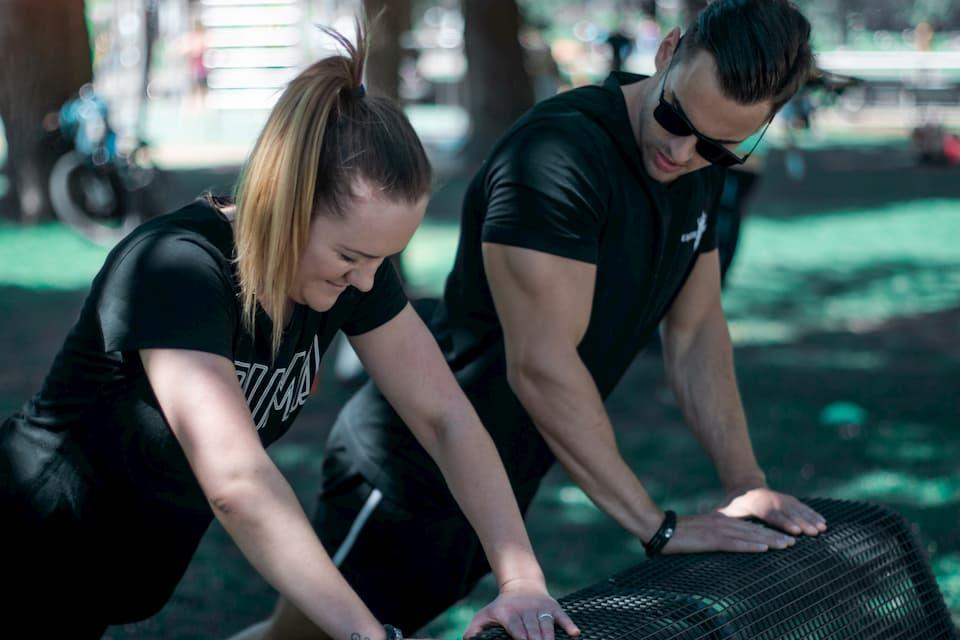 Personal Training Olympiapark München für Frauen